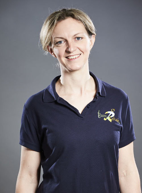 A picture of Anna Elliott, Chartered Physiotherapist at Team Rehab uk